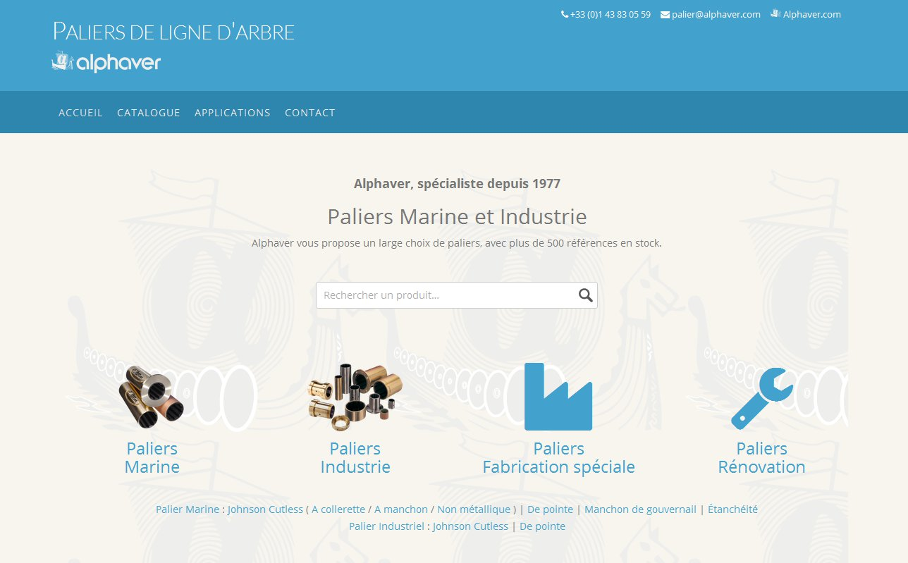 site palier ligne d arbre screenshot